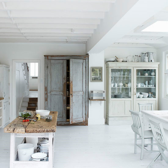 white interiors-kitchen