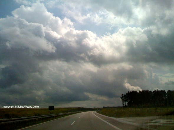 Driving through Europe. Germany 2010.